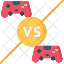 Player Vs Controllers Icon