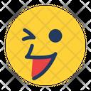 Playful Smile Feeling Icon