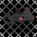 Happy Smile Dog Icon