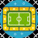 Playground Football Ball Icon