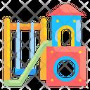Playground Kindergarten Recreation Icon