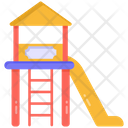 Kindergarten Playground Playhouse Icon