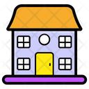 Playhouse Toy House Cat House Icon