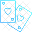 Playing Game Cards Icon