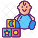 Playing Baby Icon