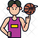 Playing Basketball Basketball Basketball Game Icon