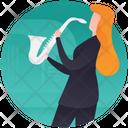 Playing Bugle Icon