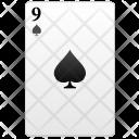 Black Nine Value Icon