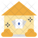 Playing Card In House Icon