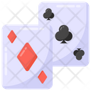 Gambilng Cards Poker Playing Cards Icon