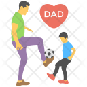 Playing Dad Friendly Icon