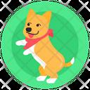 Cuddling Dog Playing Dog Happy Dog Icon