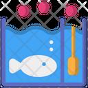 Playing Fish Aquarium Icon