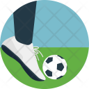 Playing Soccer Icon