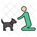 Pet Dog Stayhome Icon