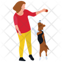 Pet Playing Pet Games Puppy Walk Icon