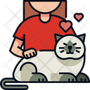 Playing With Pets Pets Cat Icon