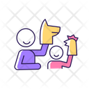 Playing With Puppets Icon