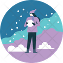 Winter Activity Ball Icon