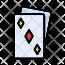 Playingcard Gambling Circus Icon