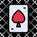 Playingcard Spade Casino Icon