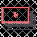 Player Video Playlist Icon