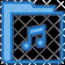 Music Entertainment Folder Icon