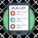 Playlist Media List Music List Icon