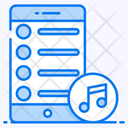 Playlist Mobile Music Songs List Icon
