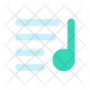 List Music Media Icon