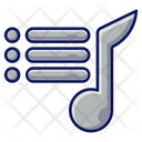 Playlist Player Music Icon