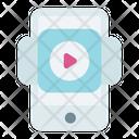 Playlist Media Video Icon