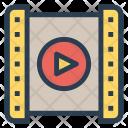 Playlist Video Movie Icon