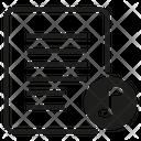 Sound Music Document Icon