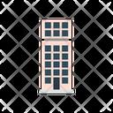 Plaza Building Shelter Icon