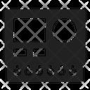 Plc Board Lcd Icon