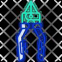 Pliers Repair Cut Icon