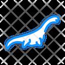 Pliosauroids Dinosaur Color Icon