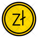 Pln Polish Zloty Poland Icon