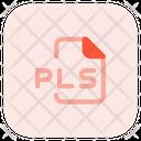 Pls File Icon