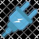 Plug Thunder Power Plug Icon