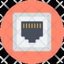 Plug Socket Lan Icon