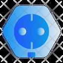 Electric Plug Energy Icon