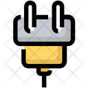 Charge Connector Cord Icon