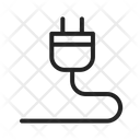Plug Electric Cable Icon