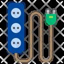 Plug Home Appliances Electric Icon