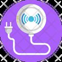 Smart Home Plug Technology Icon