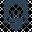 Cord Electricity Plug Icon