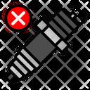Plug Broken Icon