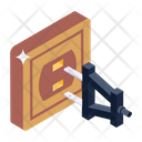 Plug In Switch Cord Power Supply Icon